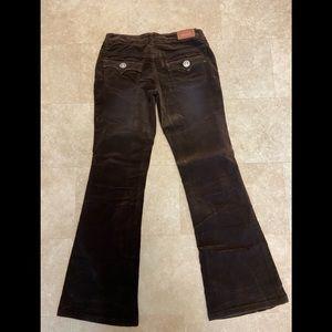 Girls Levi's Brown Corduroy Boot Cut Pants